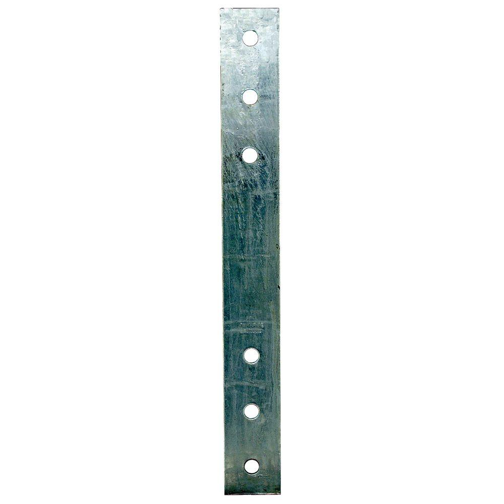 3 in. x 25-1/2 in. 3-Gauge Hot-Dip Galvanized Heavy Strap Tie