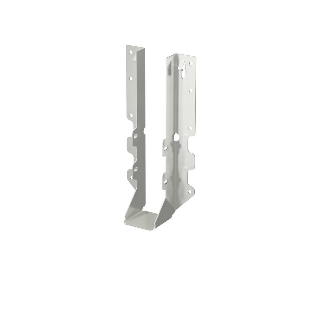 2 in. x 10 in. Stainless Steel Double Shear Face Mount Joist Hanger