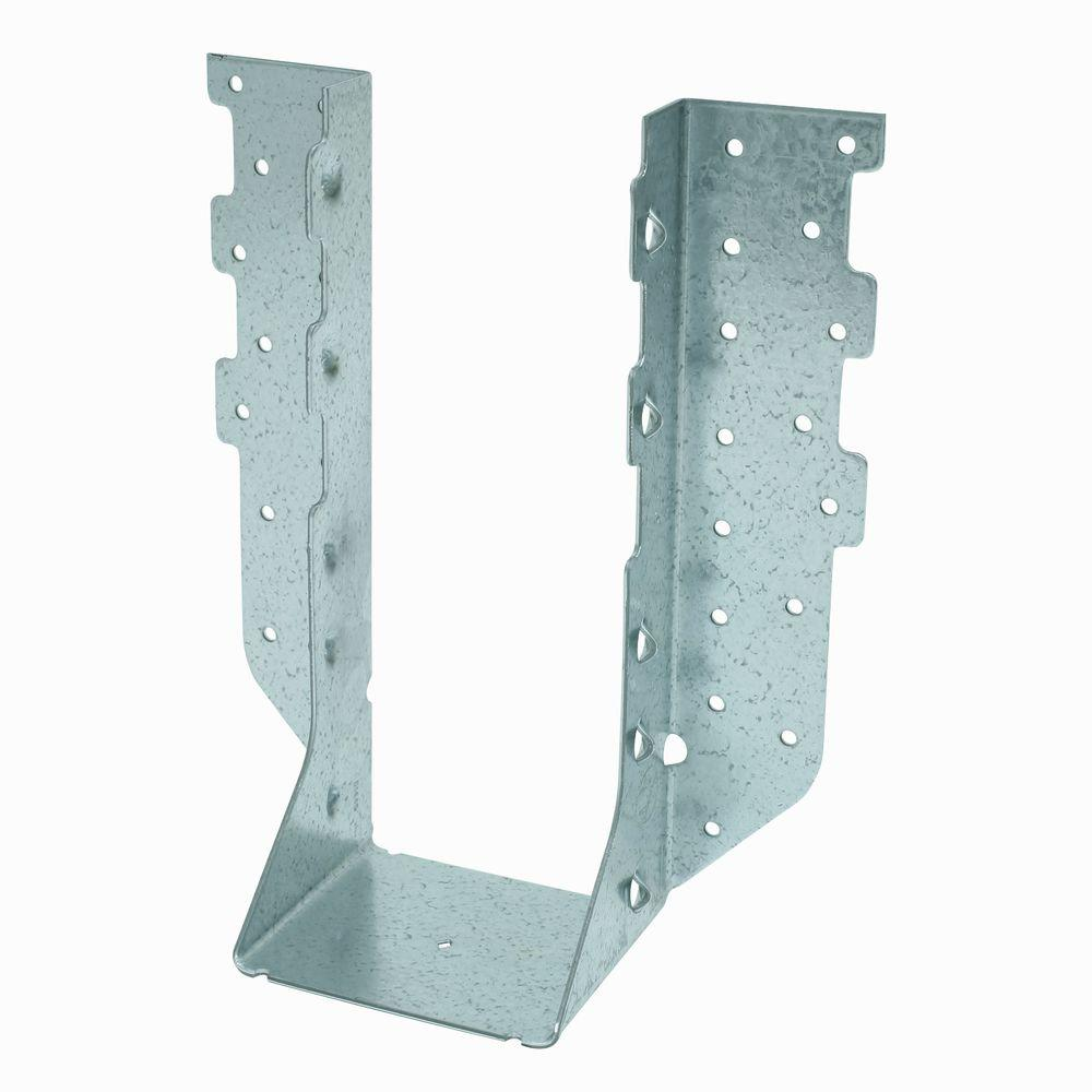 4 in. x 10 in. 14-Gauge Face Mount Hanger