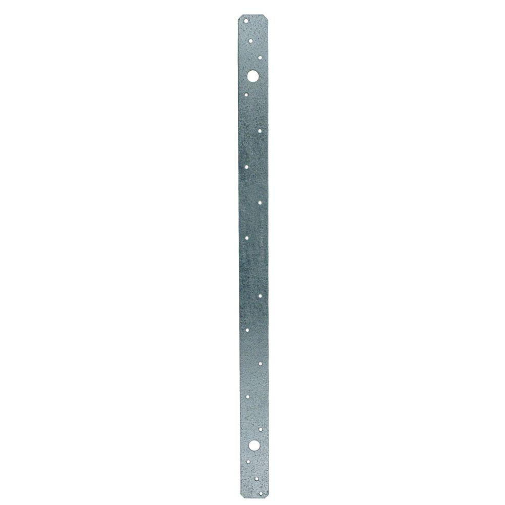 Z-MAX 21 in. Galvanized Medium Strap