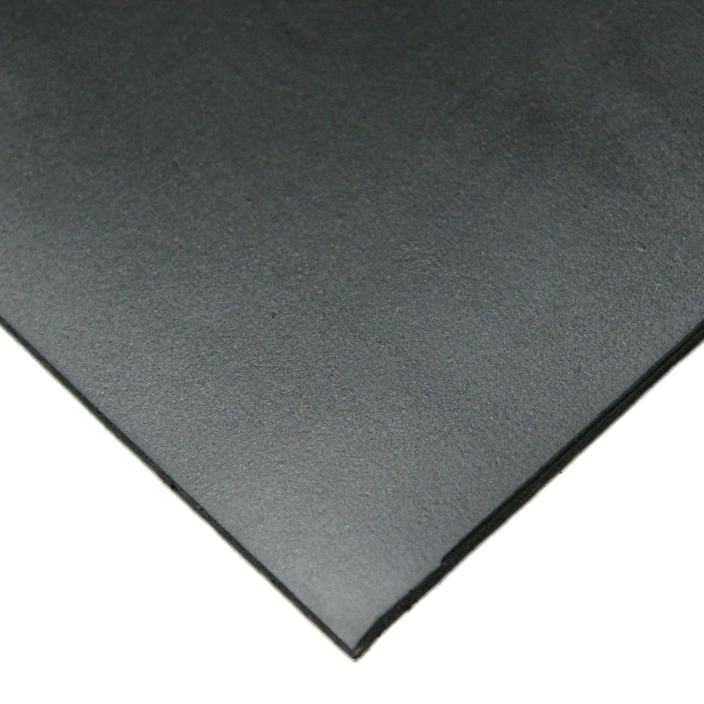 Neoprene 1/8 in. x 36 in. x 48 in. Commercial Grade 45A Soft Rubber Sheet Rolls