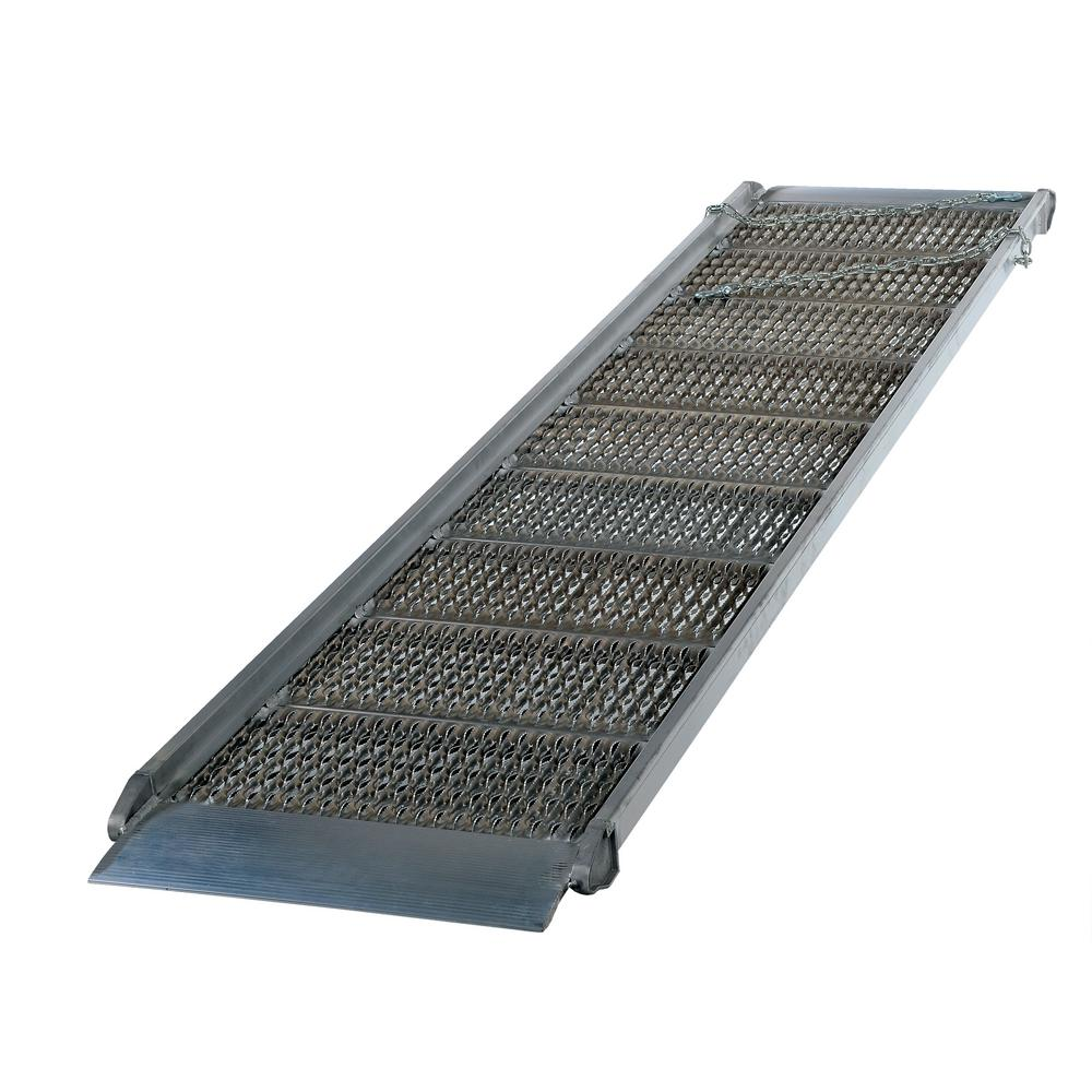 144 in. x 38 in. Aluminum Grip-Strut Walk Ramp