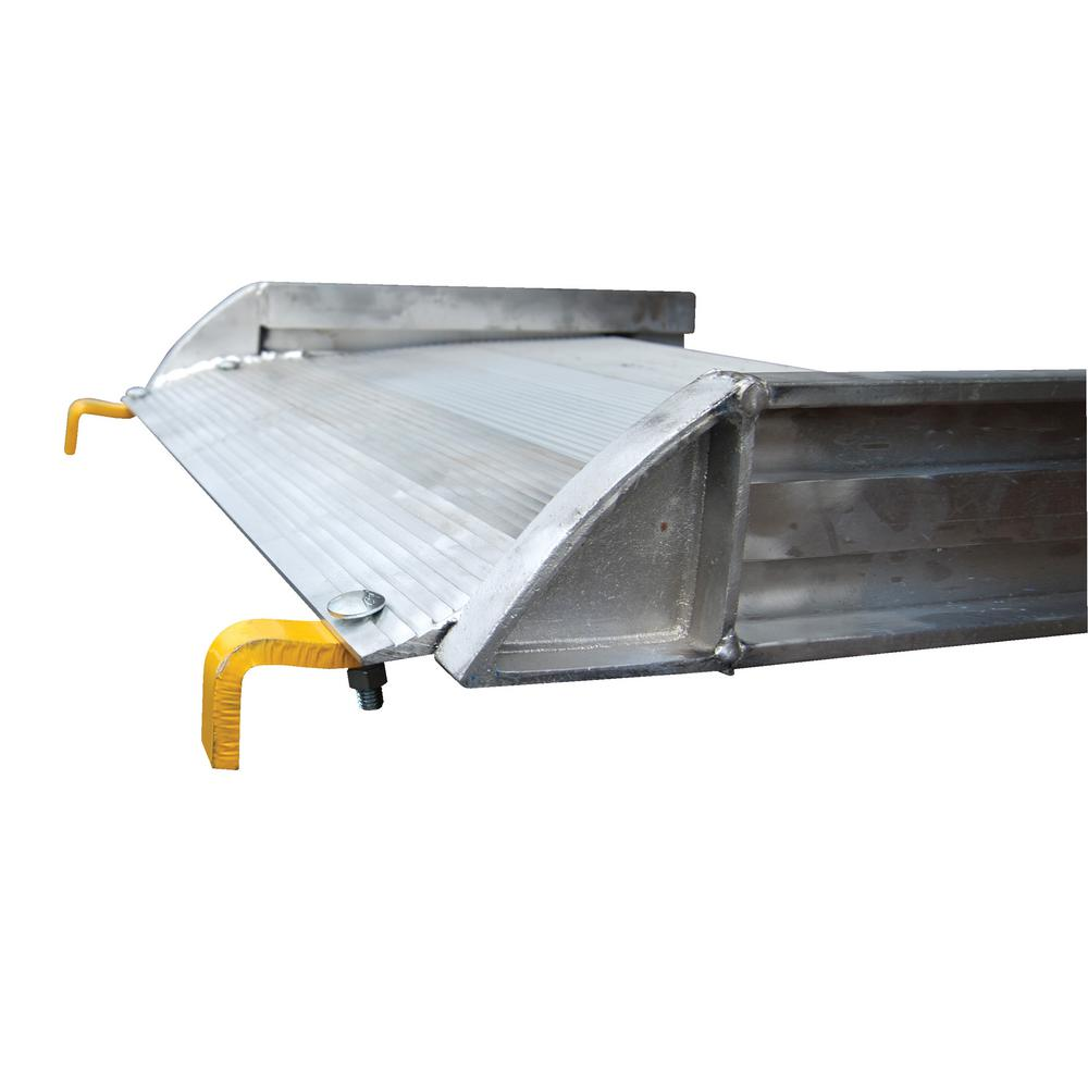 120 in. x 28 in. Aluminum Walk Ramp Hook Style